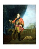 Portrait of William Augustus (1721-65) Duke of Cumberland Giclee Print by David Morier