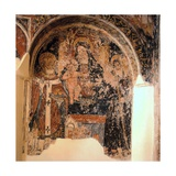 Madonna and Christ with St. Nicholas and St. Francis Giclee Print