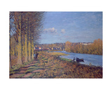 Winter Morning, 1874 Giclee Print by Alfred Sisley