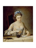 Domestic Employment: Ironing Giclee Print by Henry Robert Morland