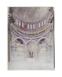 Early Study for the Proposed Decoration of St. Paul's Cathedral, 1856-57 Giclee Print by Francis Cranmer Penrose