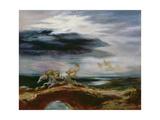 Tam O'shanter, 1849 Giclee Print by Eugene Delacroix