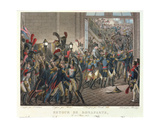 The Return of Napoleon I (1769-1821) to the Tuileries, 20th March 1815 Giclee Print by Francois Joseph Heim