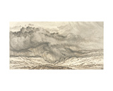 Snowdon, an Approaching Storm, 1853 Giclee Print by James Ward