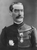General Joseph Simon Gallieni (1849-1916) Late 19th Century Photographic Print by Eugene Pirou