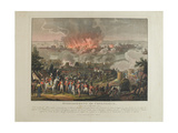 Bombardment of Copenhagen, 2nd-5th September 1807, Coloured Aquatint by and after J. Laurent… Giclee Print by Johann Lorenz Rugendas