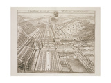 Dyrham Park, the Seat of William Blathwayt (C.1649-1717) Giclee Print by Johannes Kip