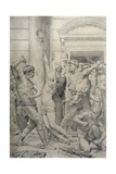 The Flagellation of Christ, C.1881 Giclee Print by William Adolphe Bouguereau