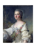 Louise-Henriette-Gabrielle De Lorraine (1718-88) Princess of Turenne and Duchess of Bouillon, 1746 Giclee Print by Jean-Marc Nattier