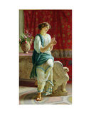 Roman Girl Giclee Print by Guglielmo Zocchi