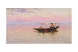 Fishing on the Lagoon, Venice, C.1890 Giclee Print by Walter Blackman