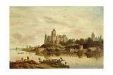 View of Het Valckhof, Nijmegen, 1650s Giclee Print by G. W. Berckhout