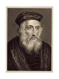 John Wycliffe (C.1330-84) Giclee Print
