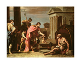 Alexander the Great (356-23 BC) Visiting Diogenes (C.410-320 BC) in Athens Giclee Print by Sebastiano Ricci