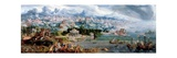 Panoramic Fantasy with the Abduction of Helen, 1535 Giclee Print by Maerten van Heemskerck