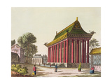 The 'European Palace' at Yuen-Ming-Yuan, Illustration from 'Le Costume Ancien Et Moderne' by… Giclee Print by Gaetano Zancon