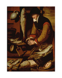 The Fish Seller Giclee Print by Pieter Aertsen