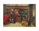 The Amateur's Exhibition Room, C.1620 Giclee Print by Hieronymus II Francken