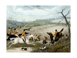 The Grand Leicestershire Fox Hunt, Plate 1, 1839, Engraved by Charles Hunt (1829-1900), 1839 Giclee Print by Samuel Henry Gordon Alken