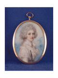 Elizabeth (1750-88) Countess of Hopetoun, 1789 Giclee Print by Richard Cosway