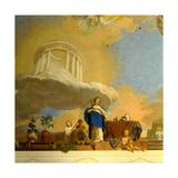 The Reign of Science, 1789-90 (Detail) Giclee Print by Karl Konrad Huber