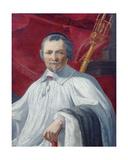 Portrait of Michel La Masle Giclée-Druck von Simon Vouet