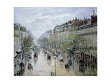 Camille Pissarro - Boulevard Montmartre, 1897 Digitálně vytištěná reprodukce