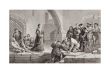 Thomas Cranmer (1489-1556) at the Traitor's Gate, from 'Illustrations of English and Scottish… Giclee Print by Frederick Goodall