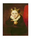 Portrait of the Artist's Son Giclee Print by William Robinson
