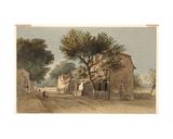 Leyton, Essex, C.1800 Giclée-Druck von John Varley