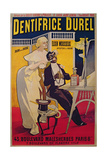 Poster Advertising Durel Toothpaste Giclee Print by  Duzolle