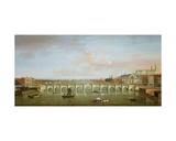 Westminster Bridge Giclee Print by Antonio Joli