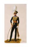 Lieutenant General Sir Thomas Downman (1776-1852) Kch Royal Horse Artillery, C.1832 Giclee Print by Alexandre-Jean Dubois Drahonet