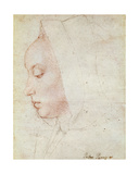 Profile of a Woman Giclee Print by  Master of Moulins