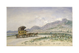 The Diligence from Grenoble to Sassenage, 7th October 1875 Giclee Print by Johan-Barthold Jongkind