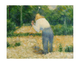 The Stonebreaker, C.1882 Giclee Print by Georges Seurat
