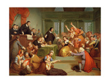 The Trial of George Jacobs, 5th August 1692, 1855 Giclee Print by Tompkins Harrison Matteson