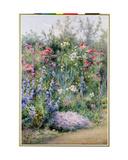 Corner of a Summer Garden Giclee Print by Harry E. James
