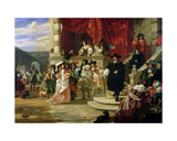 The Fall of Edward Hyde (1609-74), 1st Earl of Clarendon, 1861 Giclee Print by Edward Matthew Ward
