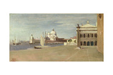 View of the Grand Canal Giclee Print by Jean Baptiste Camille Corot