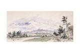 The Banks of the Isere, 27th September 1863 Giclee Print by Johan-Barthold Jongkind