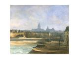 Ile De La Cite, Paris Giclée-Druck von Antoine Vollon
