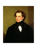 Nathaniel Hawthorne (1804-64) 1840 Giclee Print by Charles Osgood