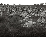Troops Resting, C.1916 Photographic Print by Jacques Moreau