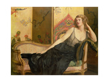 Reclining Woman Giclee Print by John Collier