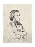 Wilhelm Richard Wagner in 1850 Giclee Print by Henri Lehmann