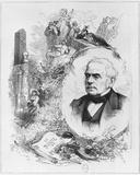 Esprit Auber (1782-1871) Photographic Print by Leon Alexandre Tourfaut