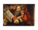 St. Jerome in His Oratory Giclee Print by Marinus Van Reymerswaele