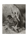 Saladin Yusuf (D.1173) Sultan During Second Crusade, Illustration from 'Bibliotheque Des… Giclee Print by Gustave Doré