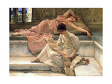 The Favourite Poet, 1888 Giclee Print by Sir Lawrence Alma-Tadema